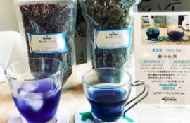 バタフライピーブレンド・蒼のお茶